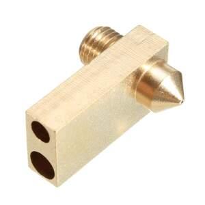 Nozzle für Ultimaker 2 in 0.4 für 2.85mm Filament 3mm PT-100 und 4mm Heizpatrone
