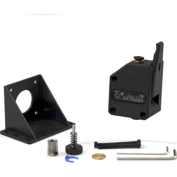 DaBMG Dual Grip Bowden Extruder mit 3:1 Untersetzung für creality geeetech anet vorne