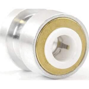 Push Fit PTFE Bowden Kupplung 3D Drucker 6mm Schnellverbinder Aluminium seite