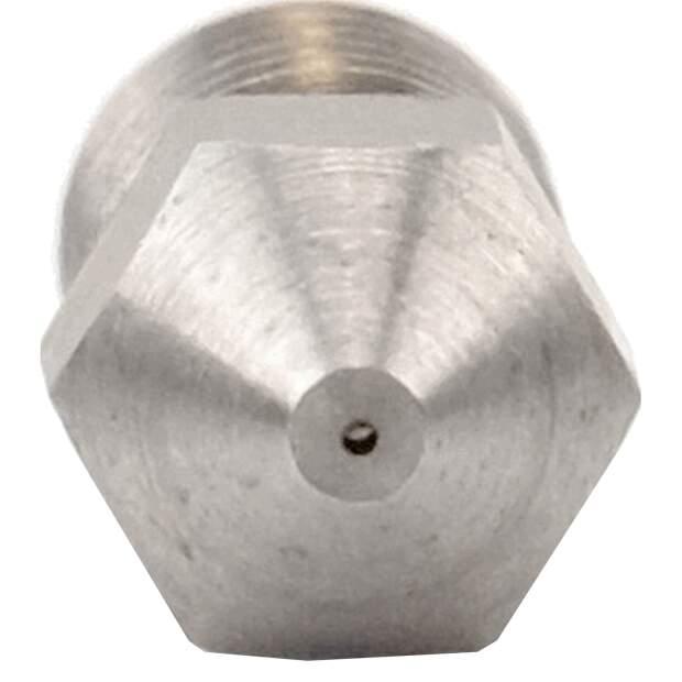 MK8 Nozzle aus Wolframkarbid in 0.4mm für 1.75mm Filament vorne