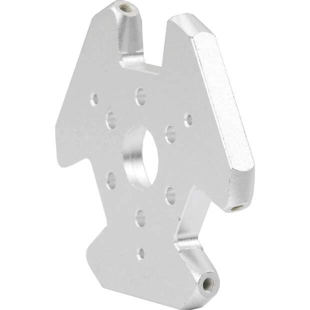 Aluminium Effektor Kossel Delta Fisheye für v6 Hotends M3 Gewinde