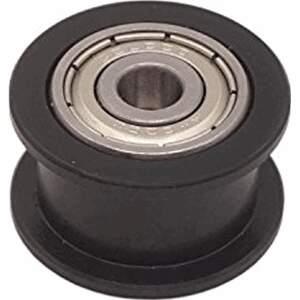 Spannrolle für 5 mm Achsen. Umlenkrolle mit doppeltem Kugellager aus POM 9mm detail