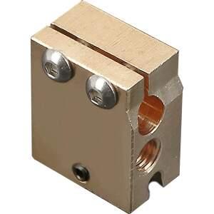 Messing Heizblock für DaVolcano Nozzle Hot Ends Heating Block RepRap 3D-Drucker seite