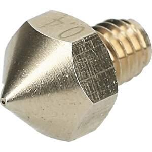 Nozzle für Ultimaker Original aus Messing CuZn37 in 0.4mm für 3.00mm Filament seite