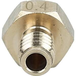 Nozzle für Ultimaker Original aus Messing CuZn37 in 0.4mm für 3.00mm Filament