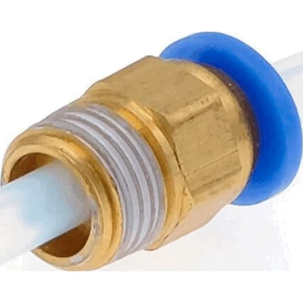 Push Fit PTFE Bowden Kupplung PC4-R1/8 Zoll 3D Drucker 4mm Schnellverbinder vorne