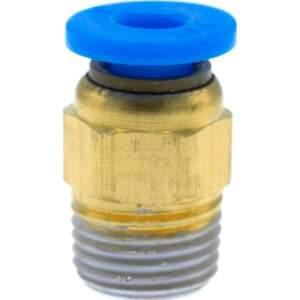 Push Fit PTFE Bowden Kupplung PC4-R1/8 Zoll 3D Drucker 4mm Schnellverbinder seite