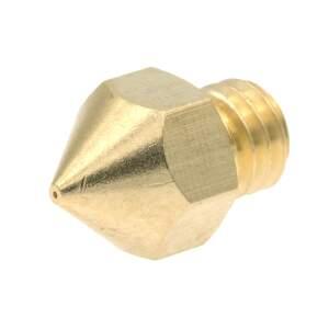 MK8 Nozzle aus Messing CuZn37 in 0.4mm für 1.75mm Filament seite