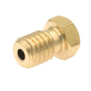 V6 Style Nozzle aus Messing CuZn37 in 0.2mm für 1.75mm Filament detail