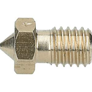 V6 Style Nozzle aus Messing CuZn37 in 0.2, 0.3, 0.4, 0.5mm für 1.75mm Filament detail