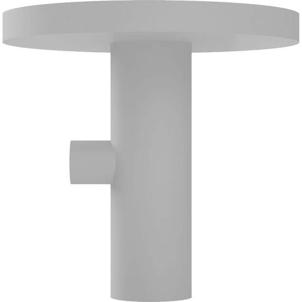 Haken Halter passend für Kitchen Aid ® Farbe: Hellgrau 1x KA1K