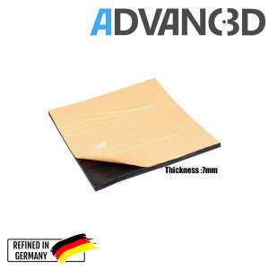 Heizbettisolierung für 3D Drucker wärmedämmend selbstklebend  220x220