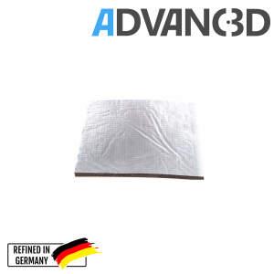 Heizbettisolierung für 3D Drucker wärmedämmend selbstklebend  400x400