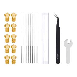 V6 Style Nozzle Kit aus Messing CuZn37 in 0.4mm für...