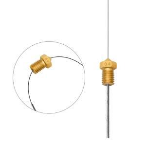 MK7 Nozzle Kit aus Messing CuZn37 in 0.4mm für 1.75mm Filament mit Zubehör