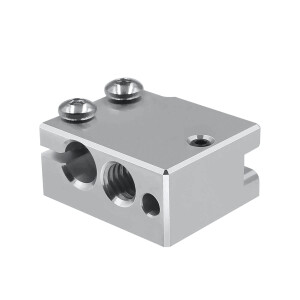 Heizblock für DaVolcano V2 Nozzle Düse Hot Ends Heating Block RepRap 3D-Drucker