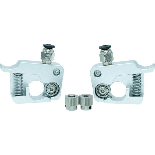 MK9 Aluminium Extruder Upgrade für Makerbot CTC Set links rechts vorne
