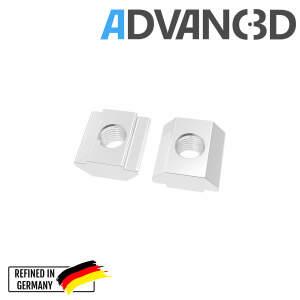 Nutenstein M5 T-nuts Square nut 20 profiles (European standard) detail