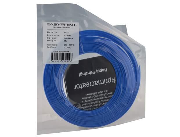 EasyPrint PETG Sample - 1.75mm - 50 g - Solid Blue
