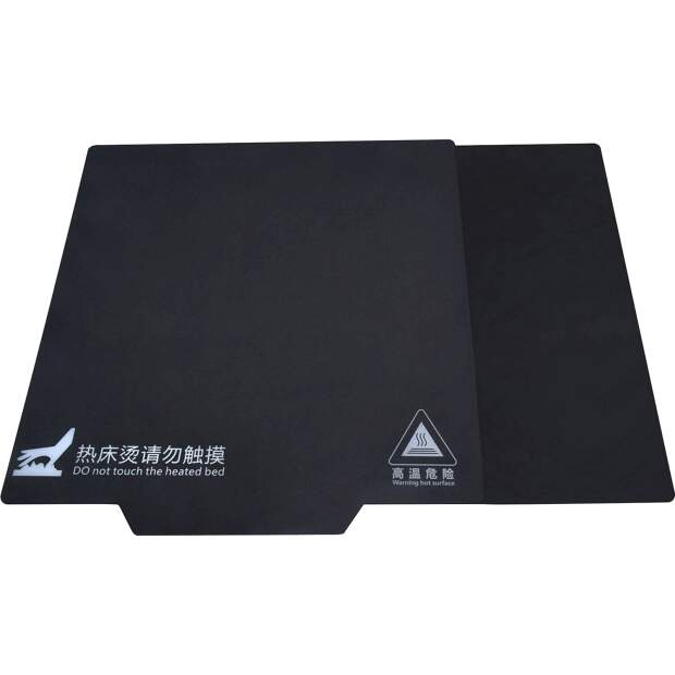 DaFlexpad System 220x220mm flexible Dauerdruckplatte mit Magnetfolie PLA PETG vorne