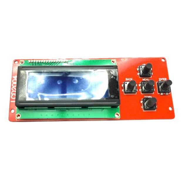 LCD ControllerScreen Display LCD2004 mit 5 Tastern für  CTC Bizzer, Geeetech i3