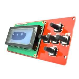 LCD ControllerScreen Display LCD2004 mit 5 Tastern für  CTC Bizzer, Geeetech i3 Gebraucht