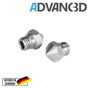 MK10 Nozzle aus Edelstahl X 8 CrNiS 18 9 in 0.4mm für...