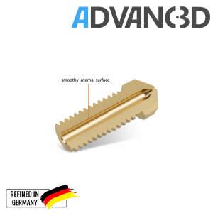 DaVolcano Nozzle aus Messing CuZn37 in 0.6mm für 3.00mm...