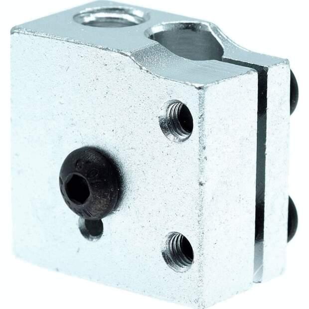 Heizblock für DaVolcano Nozzle Düse Hot Ends Heating Block RepRap 3D-Drucker vorne