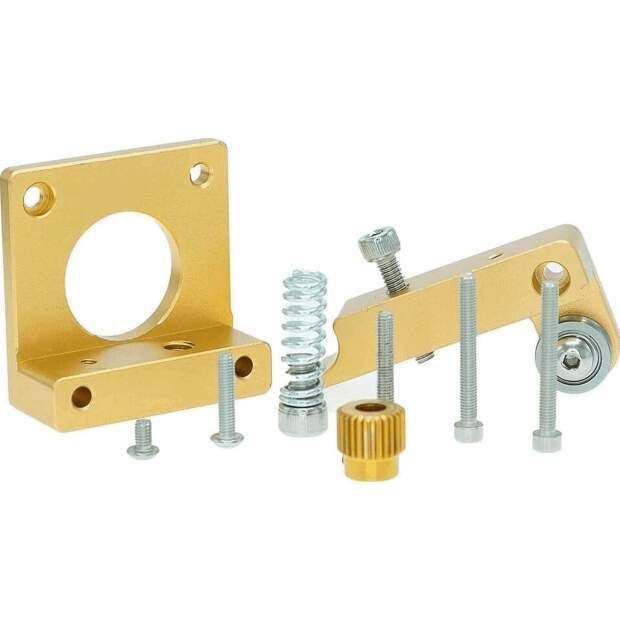 1.75mm MK8 Extruder Aluminium Links Halterung 3D-Drucker RepRap Mendel DIY Kit vorne