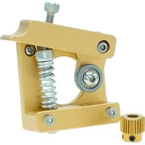 1.75mm MK8 Extruder Aluminium Links Halterung 3D-Drucker RepRap Mendel DIY Kit seite