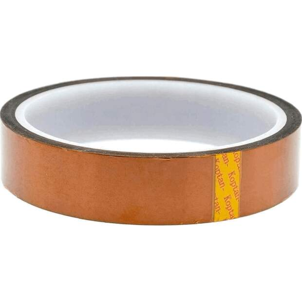 Capton Polyimid Tape 20mm breit und 33m lang - Hitzebeständig für Hotends vorne