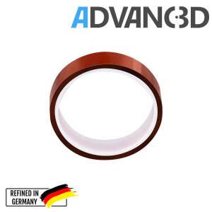 Capton Polyimid Tape 20mm breit und 33m lang - Hitzebeständig für Hotends