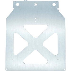 Heizbett Aufnahme aus 4 mm Aluminium gefräst Ultimaker 2 2+ extended EN AW6061
