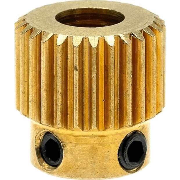 MK7  MK8 Feederrad für 1.75 - 3mm Filament 26 Zähne Messing Drive Gear Extruder vorne