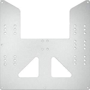 Druckbett Aufnahme 220x220mm aus 3mm Aluminium gefräst für i3 A8 AM8 CTC