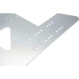 Druckbett Aufnahme 220x220mm aus 3mm Aluminium gefräst...