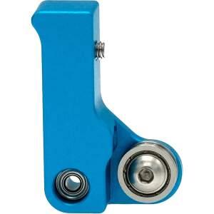 MK10 kompakt Extruder Federspannung nachstellbar kugelgelagert rechts Blau seite