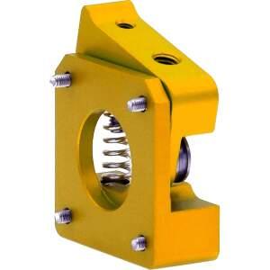 MK10 kompakt Extruder Federspannung nachstellbar kugelgelagert rechts Gold