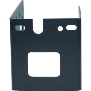 Extruder Hotend Halteblech für Prusa i2 i3 3D Drucker aus Stahl verzinkt - Schwarz detail