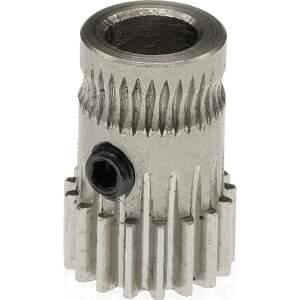 Dual Drive Gear Kit 1.75mm für 5mm Motoraufnahme. gefertigt aus gehärtetem Stahl seite