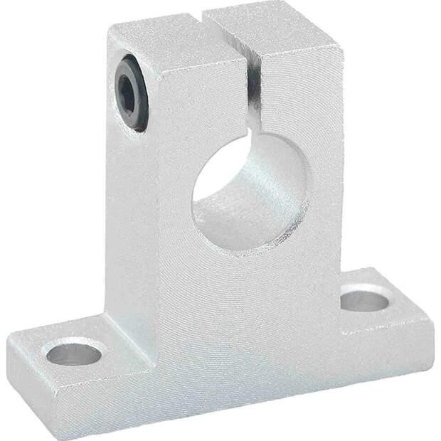 Aluminium Wellenhalter für 12mm Welle Linearführung 3D-Drucker CNC Robotik vorne