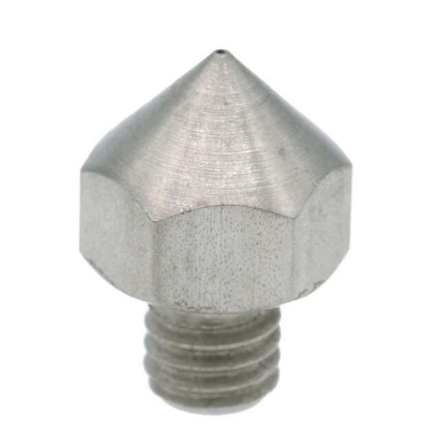 Nozzle für Ultimaker Original aus Edelstahl X 8 CrNiS 18 9 in 0.4mm für 1.75mm Filament vorne