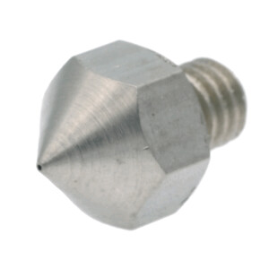 Nozzle für Ultimaker Original aus Edelstahl X 8 CrNiS 18 9 in 0.4mm für 1.75mm Filament seite