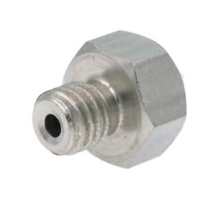 Nozzle für Ultimaker Original aus Edelstahl X 8 CrNiS 18 9 in 0.4mm für 1.75mm Filament detail