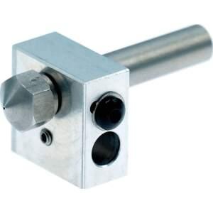 Heizblock Set MK10 Stahl 0.4mm 1.75mm Filament Makerbot...