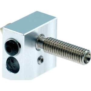 Heizblock Set MK7 Messing 0.4mm 1.75mm Filament RepRap 3D Drucker i3 Anet DIY detail