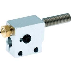 Heizblock Set DaVolcano Messing 0.6mm 1.75mm Filament...