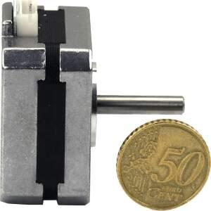 Nema 17 Pancake Stepper Motor 42BYGH007-2-22L 23mm 2,9v 1a 0,14nm 20cm Cable