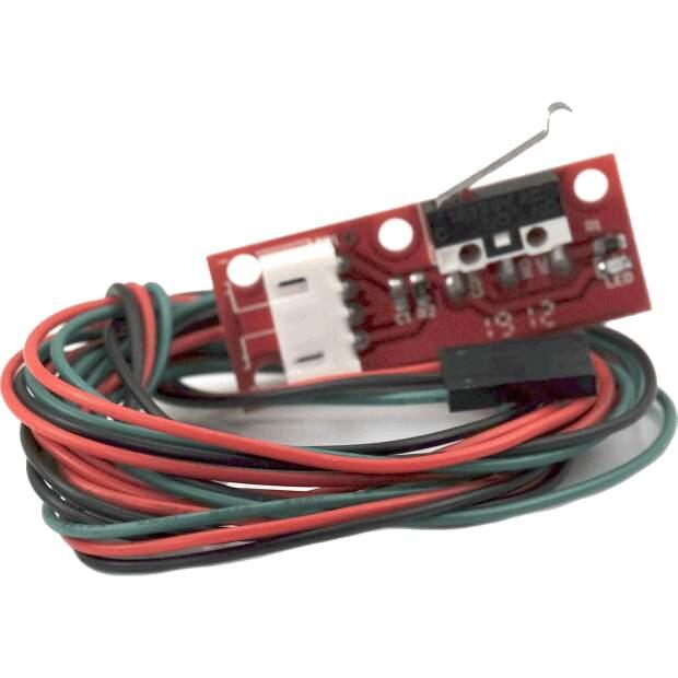 Mechanischer Endschalter Endstop für 3D Drucker Ramps MKS SKR CNC mit 1m Kabel vorne